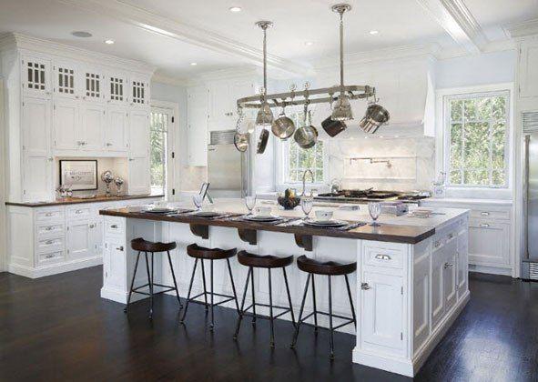 Large Custom Kitchen Island | Home Improvements | Large kitchen