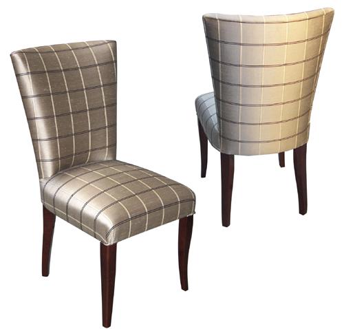 Custom Upholstered Dining Chairs Custom Made Upholstered Navy Blue
