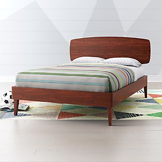 Mid Century Modern Beds | Crate and Barrel