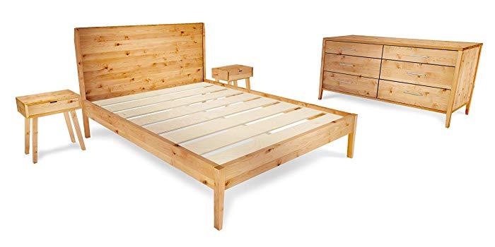 Amazon.com: Mid-Century Modern 4-Piece Bedroom Furniture Set: Handmade
