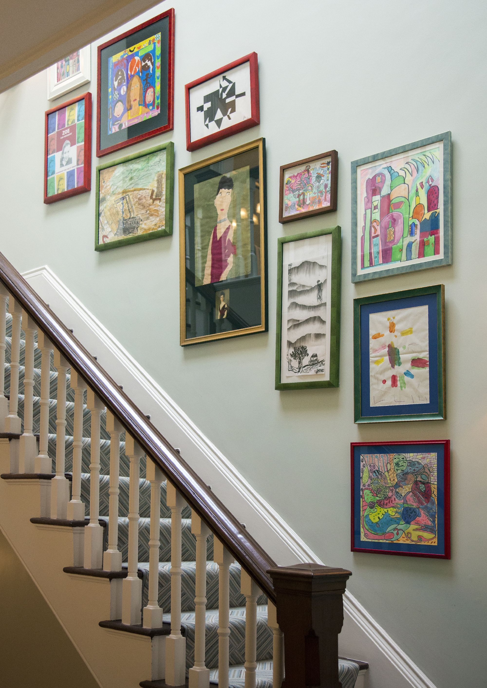 27 Stylish Staircase Decorating Ideas - How to Decorate Stairways