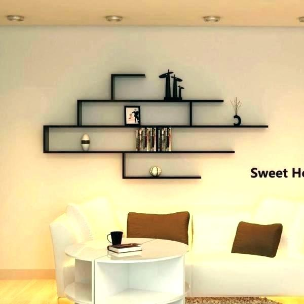 Small Bathroom Wall Shelf Wall Shelves Ideas Attractive White