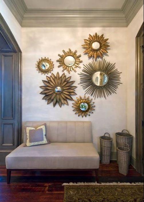 Using Sunburst Mirrors in Your Home Decor | Mirror Mirror | Room
