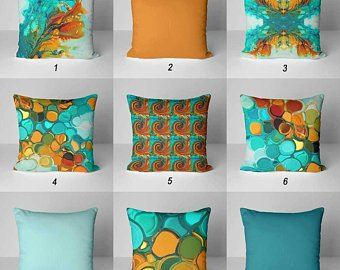 Colorful pillows | Etsy