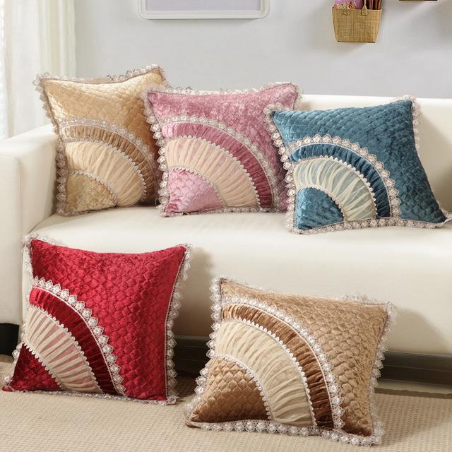 Classic Charpie 45x45cm/17.7x17.7'' Decoration Sofa Cushion Colorful