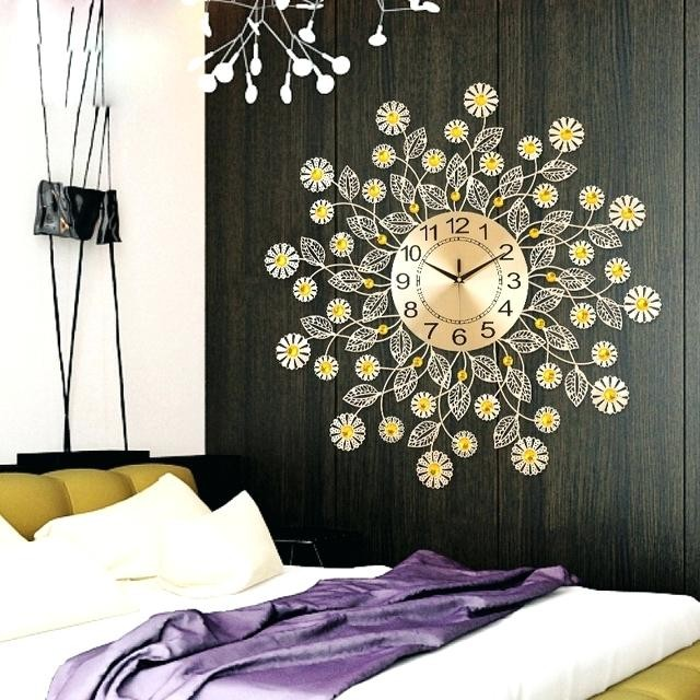 Decorative Wall Clocks For Living Room Clock Large - kicksometer.info