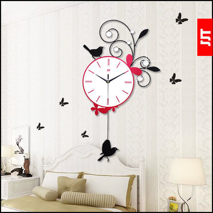 High grade living room bedroom wall clock Artistic clock Creative