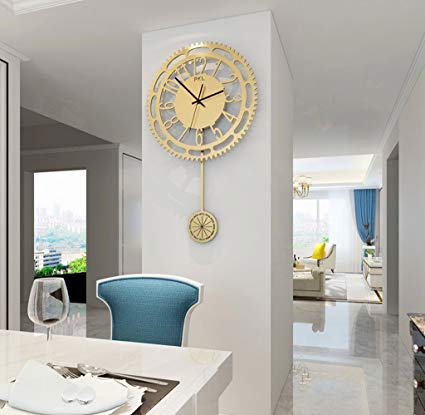Amazon.com: 20 Inch Creative Fashion Wall Clock Living Room Modern