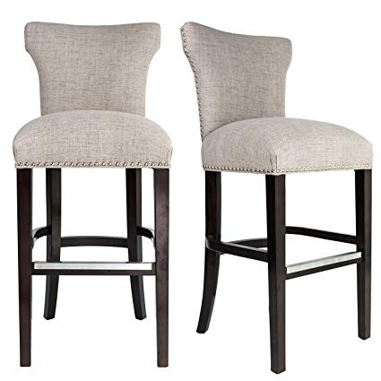 Amazon.com: Sole Designs Bella Collection Modern Upholstered Bar