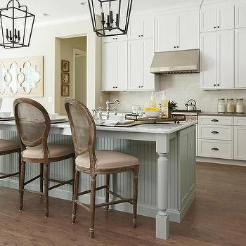 French Cane Back Counter Stools Design Ideas