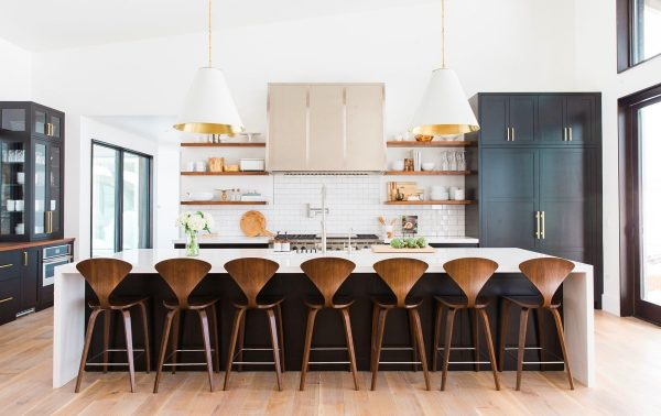 Design Ideas For Kitchen Stools With Backs