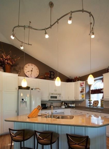 kitchen lighting vaulted ceiling | creative lighting pendants and