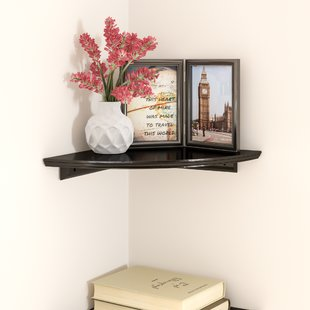 Wall Mounted Corner Shelves You'll Love | Wayfair