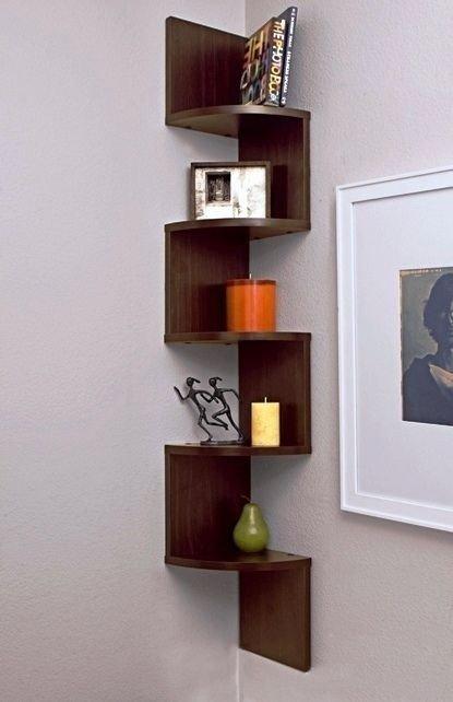 Zig Zag Corner Wall Shelf - Ideas on Foter