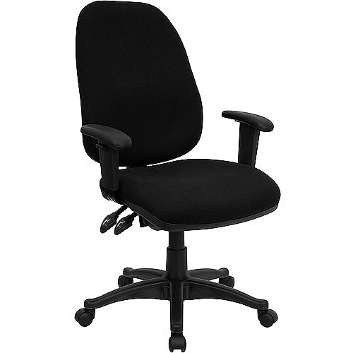 Ergonomic Computer Office Chair with Height Adjustable Arms