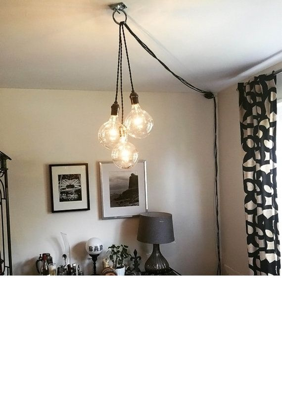 Best 25 Plug In Pendant Light Ideas On Pinterest Within Hanging