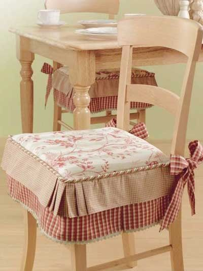 Dining Chairs Cushions with ties | Dining Chair Cushions With Ties