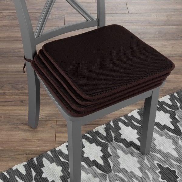 Shop Chair Cushions-Set of 4 Square Foam 16