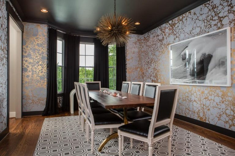 90 Contemporary Dining Room Ideas for 2019