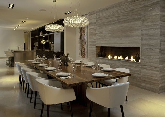 30 Modern Dining Rooms Design Ideas | HOME | My Home Ideas | Dining