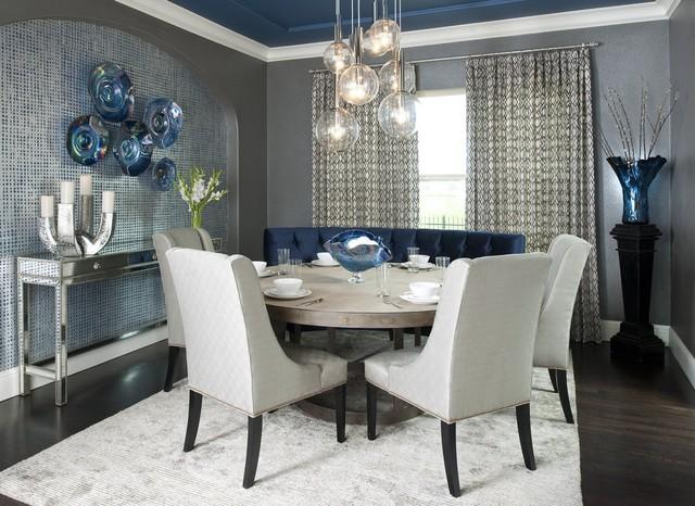 Dallas Rugs used in Decor - Contemporary - Dining Room - Dallas - by