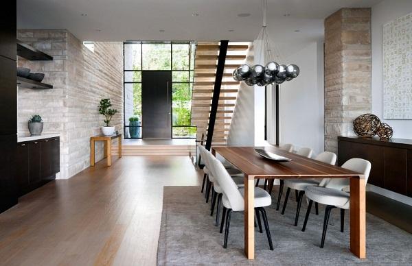 Lofty Modern Dining Room Ideas All For Contemporary Decor 14