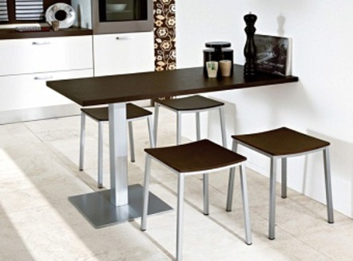 Small Room Design: Modern dining room tables for small spaces Small