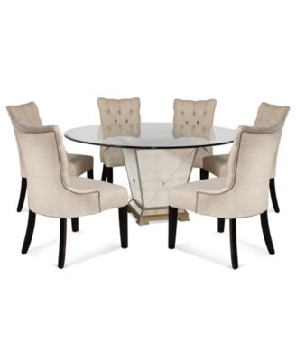 Furniture Marais Dining Room Furniture, 7 Piece Set (60