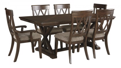 Brossling Table & 6 Chairs