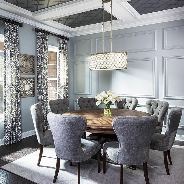 love me some round tables | Home Envy | Pinterest | Room, Dining