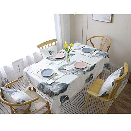 Amazon.com: SELLBINDING Tablecloth Cotton Thicker Dining Table