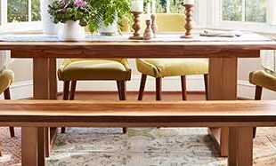 Add Elegance to a Room With Unique Dining Tables for Small Spaces