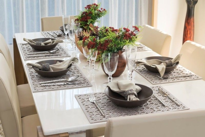 27 Modern Dining Table Setting Ideas | Dining Room Ideas | Modern