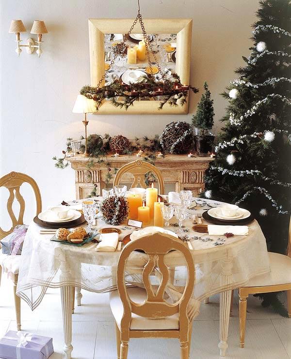 18 Christmas Dinner Table Decoration Ideas | Freshome.com