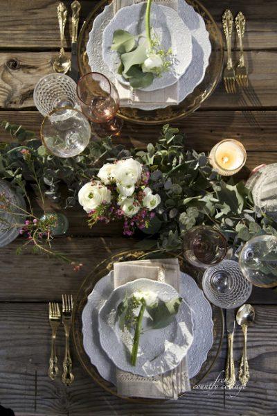 Elegant Candlelight Dinner Table Setting Ideas - Balsam Hill Blog