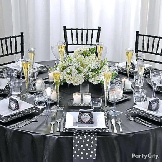 Table Setting Ideas Table Arrangements For Dinner Party Enchanting