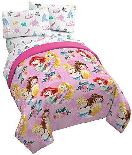 Amazon.com: Jay Franco Disney Princess Sassy 4 Piece Twin Bed Set