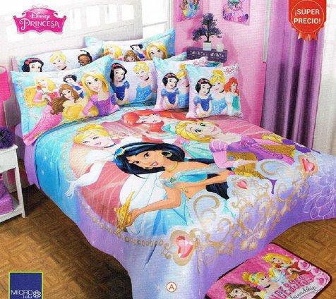 Disney Princess Full Size Bedding Set