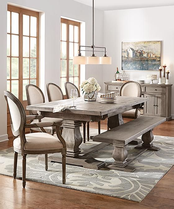 Distressed Farmhouse Dining Table Maggieshopepage Com In Decor 13