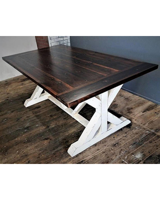Distressed Farmhouse Dining Table Fabulous - Dndintellibiz.com