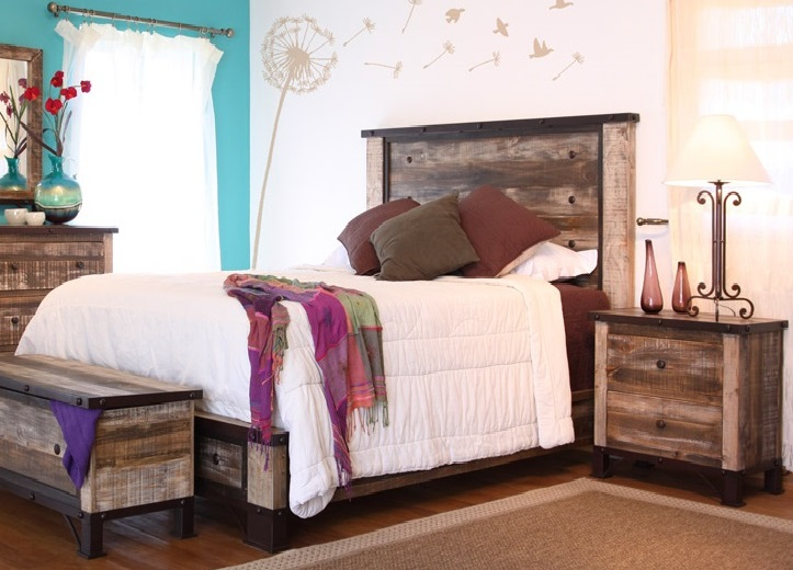 Unique Distressed Wood Bedroom Furniture u2014 Tipp City Designs