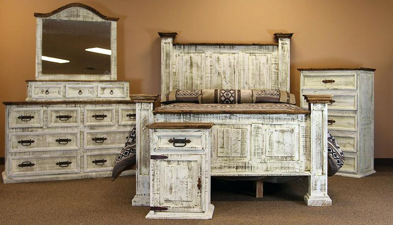 Appealing Distressed White Bedroom Furniture Distressed White Wood