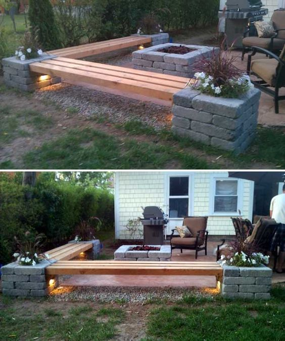 Amazing Backyard Ideas on a Budget | For the Home | Diy patio