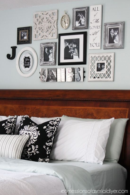 Bedroom Gallery Wall: a Decorating Challenge | Bloggers' Best DIY