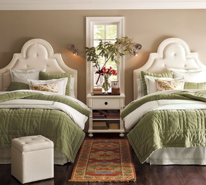One Room, Two Beds: Ideas for Guest Rooms With Double Bed Sets