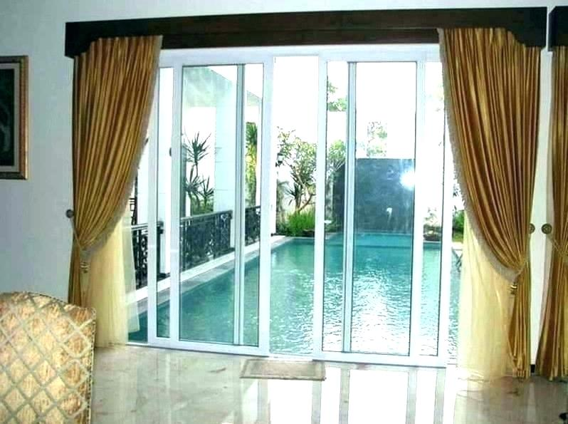 tremendous curtains and drapes for sliding glass doors