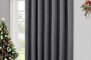 Amazon.com: NICETOWN Patio Sliding Door Curtain - Wide Blackout