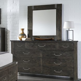 Dresser With Side Shelves | Wayfair