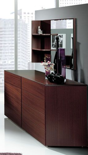 Double Dresser with Mirror and Shelf from Benicarlo 124 Shop modern