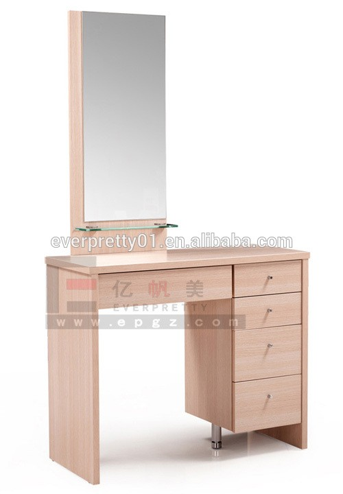Simple Wooden Dressing Table Mirror with Drawer Designs, View Simple